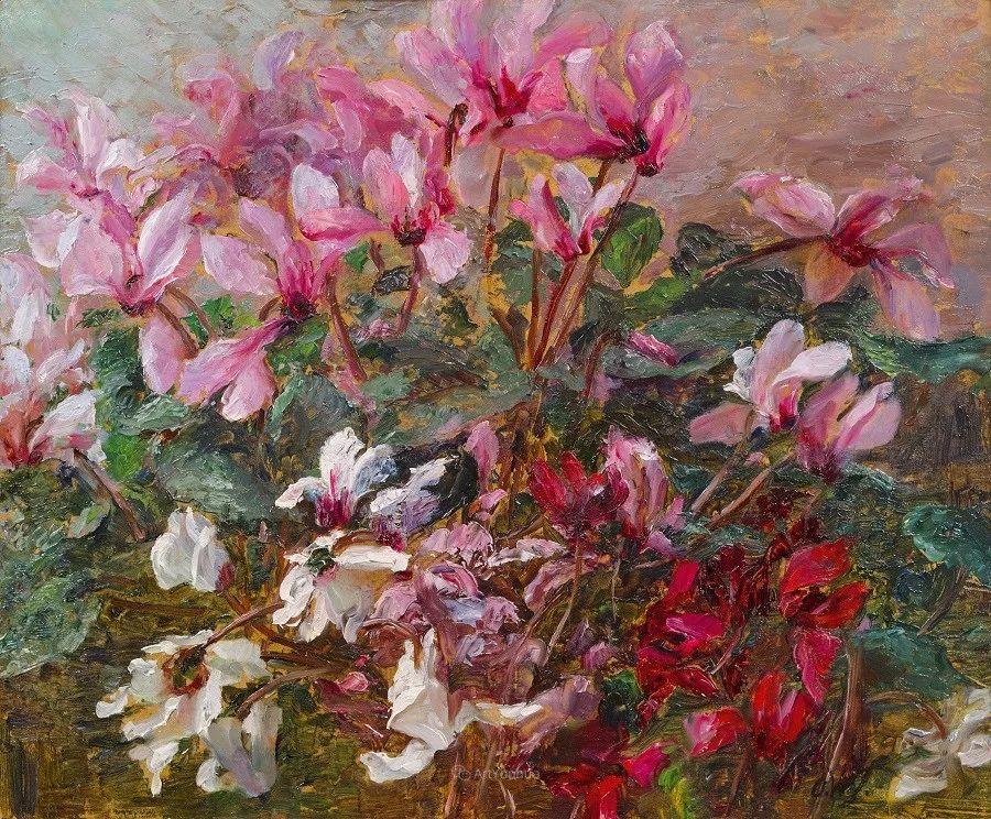 花卉篇,奥地利女画家奥尔加作品二插图