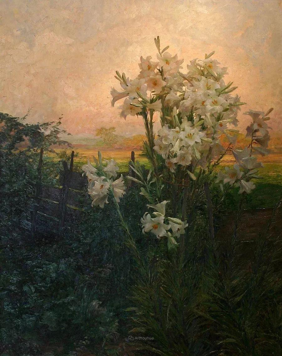 花卉篇,奥地利女画家奥尔加作品二插图1