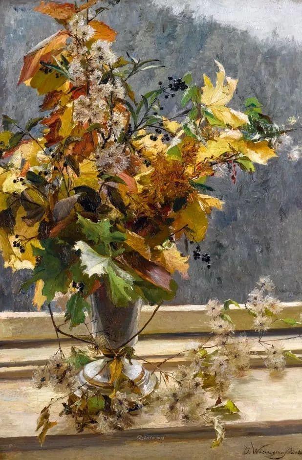 花卉篇,奥地利女画家奥尔加作品二插图6