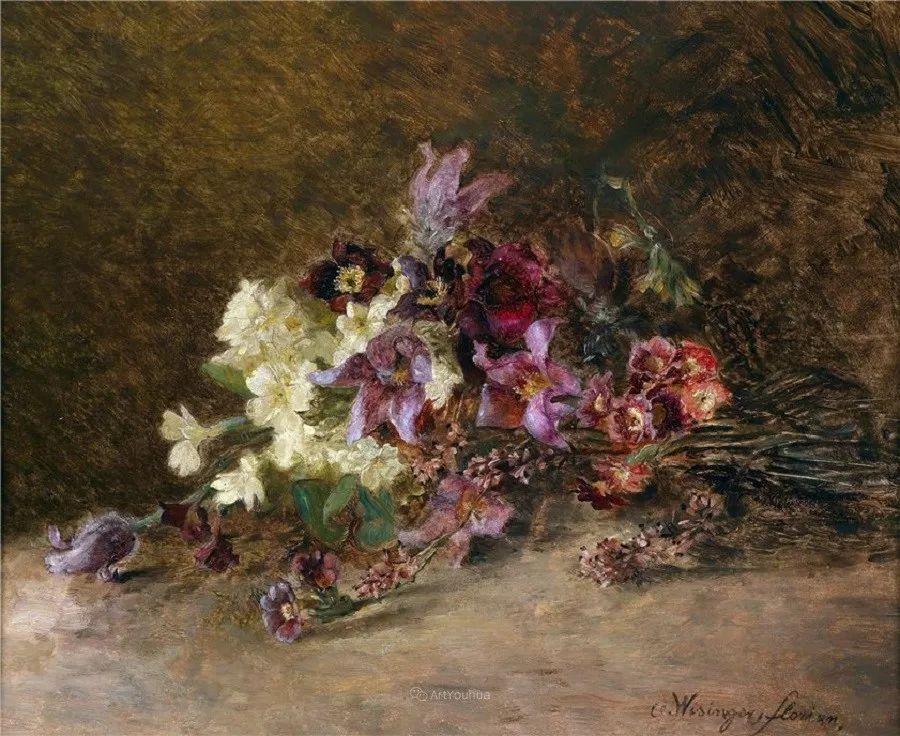 花卉篇,奥地利女画家奥尔加作品二插图7
