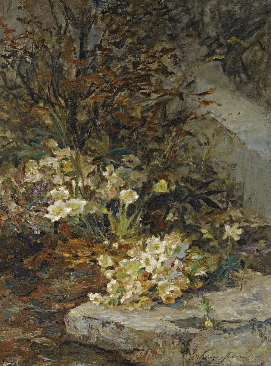 花卉篇,奥地利女画家奥尔加作品二插图8