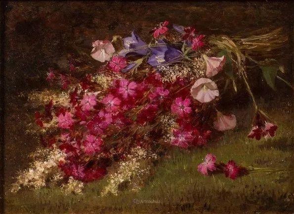 花卉篇,奥地利女画家奥尔加作品二插图10
