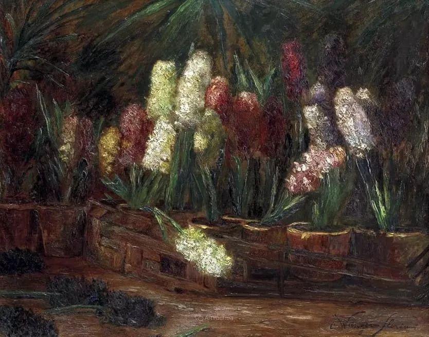 花卉篇,奥地利女画家奥尔加作品二插图11