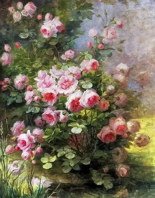 花卉篇,奥地利女画家奥尔加作品二插图15