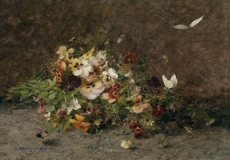 花卉篇,奥地利女画家奥尔加作品二插图17