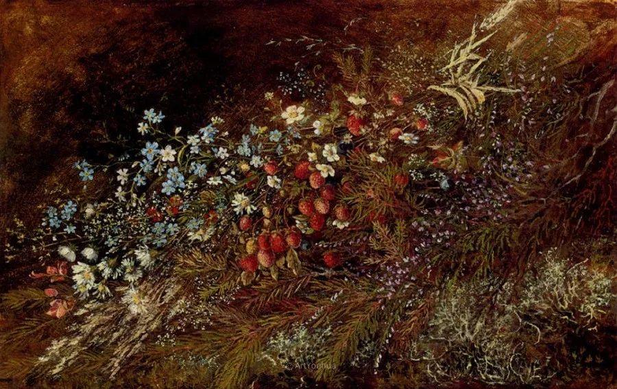 花卉篇,奥地利女画家奥尔加作品二插图18
