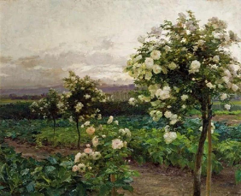 花卉篇,奥地利女画家奥尔加作品二插图23