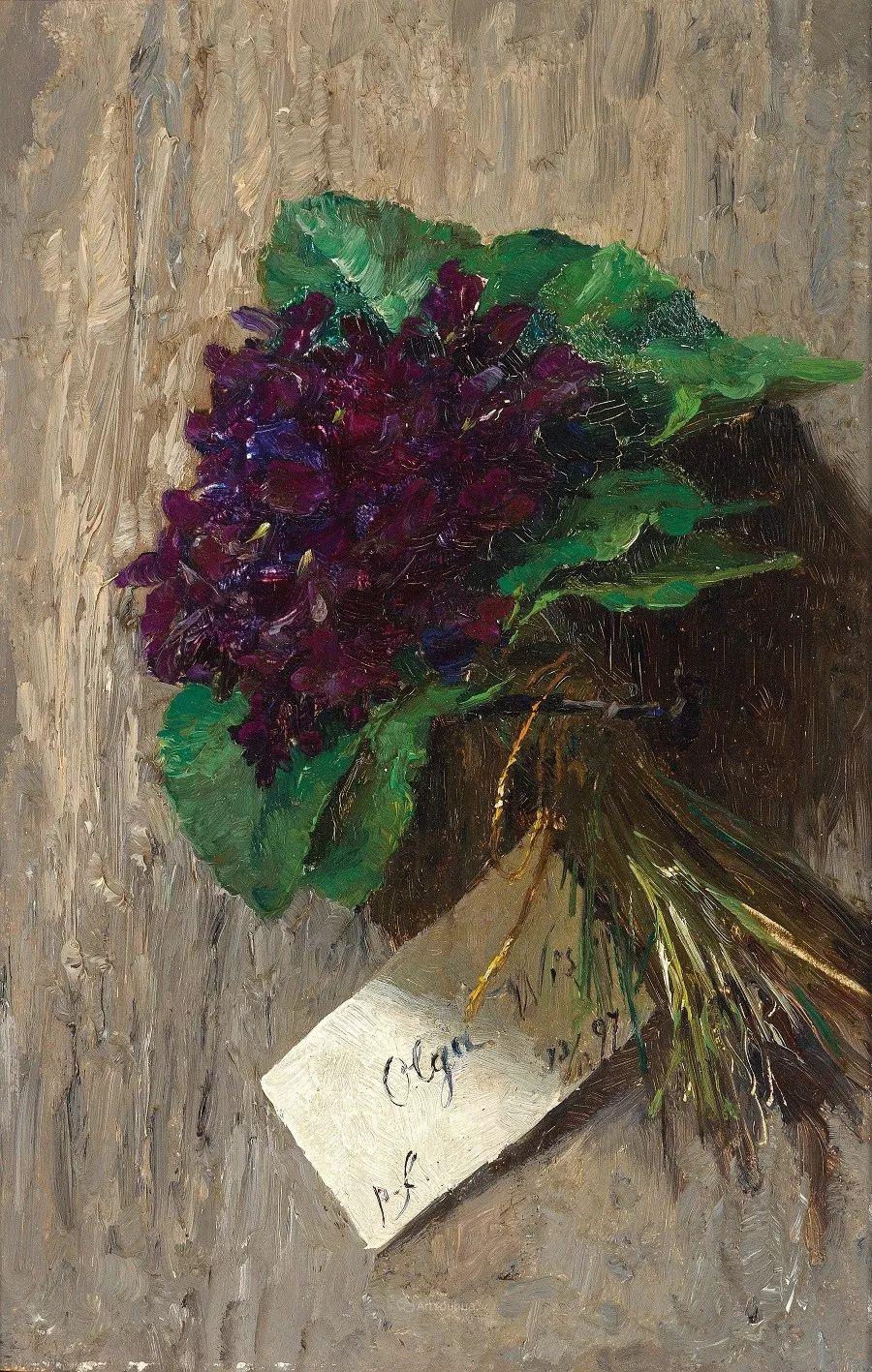 花卉篇,奥地利女画家奥尔加作品二插图24