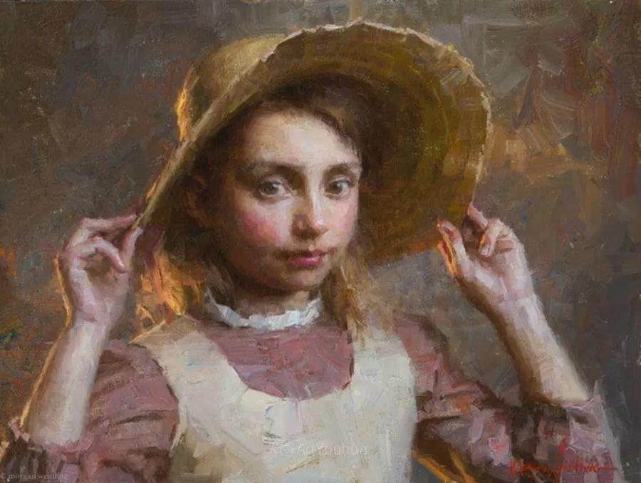 最平凡的幸福,有爱的儿童油画!美国画家摩根·威斯特林作品集一插图16