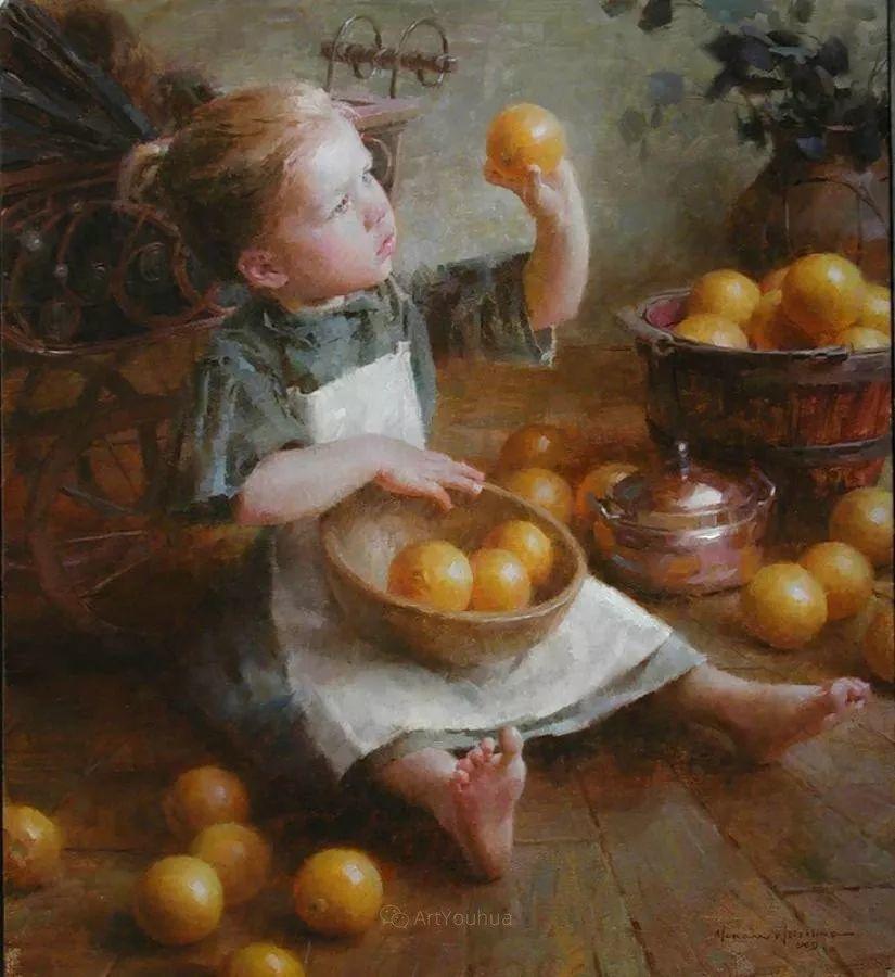 最平凡的幸福,有爱的儿童油画!美国画家摩根·威斯特林作品集一插图31