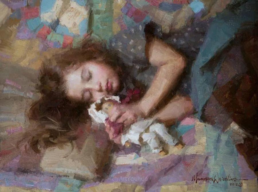 最平凡的幸福,有爱的儿童油画!美国画家摩根·威斯特林作品集一插图32