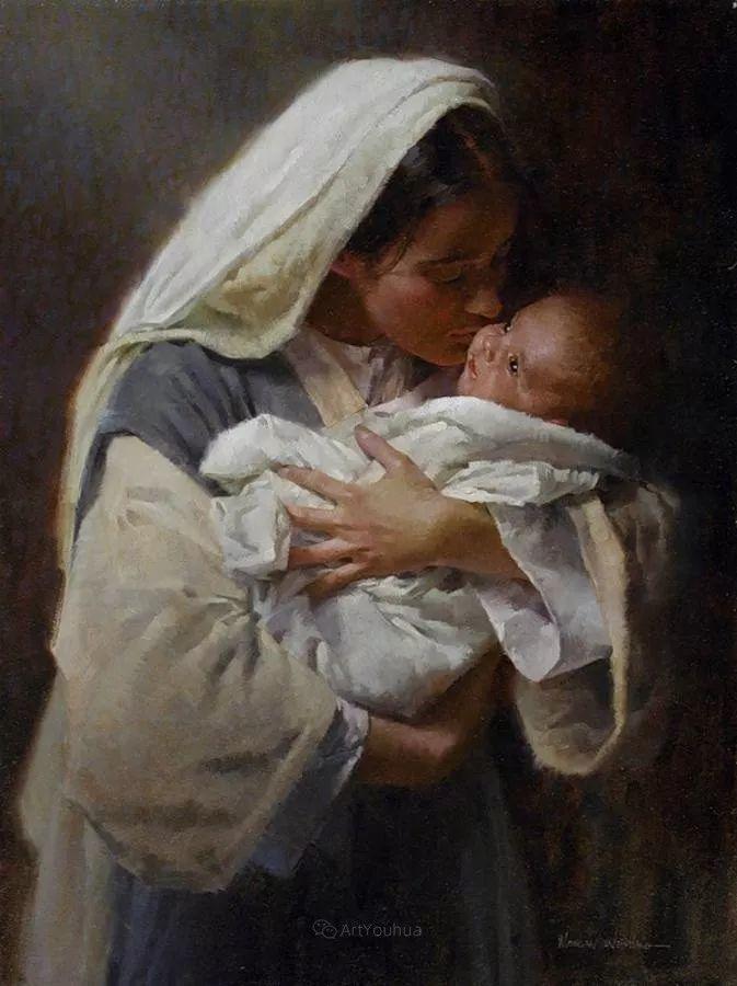 最平凡的幸福,有爱的儿童油画!美国画家摩根·威斯特林作品集一插图33