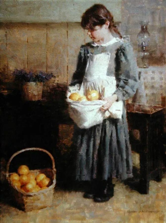 最平凡的幸福,有爱的儿童油画!美国画家摩根·威斯特林作品集一插图36