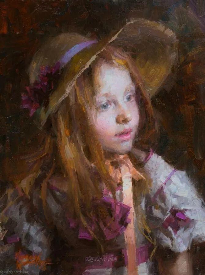 最平凡的幸福,有爱的儿童油画!美国画家摩根·威斯特林作品集一插图37