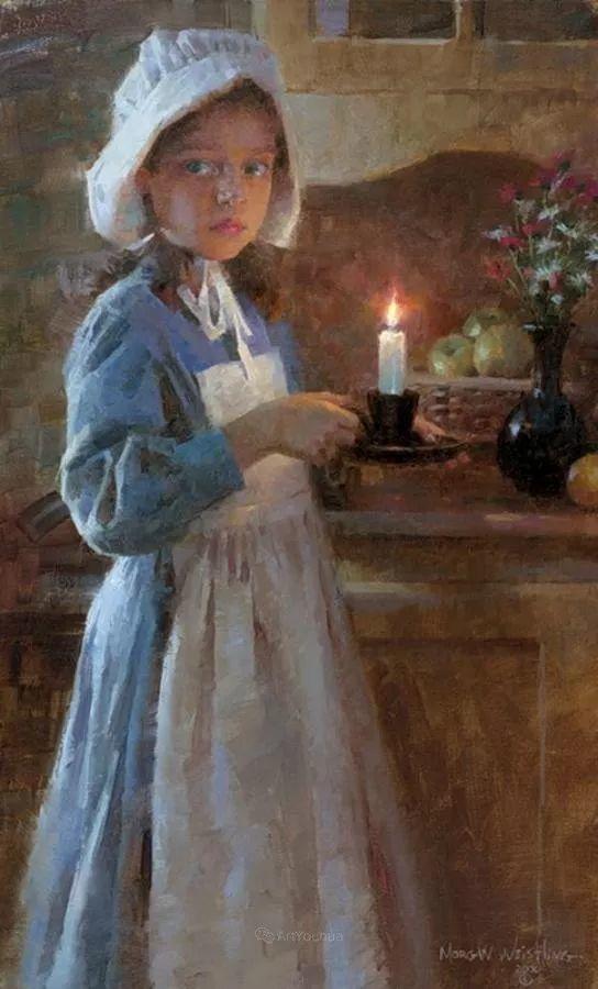 最平凡的幸福,有爱的儿童油画!美国画家摩根·威斯特林作品集一插图52