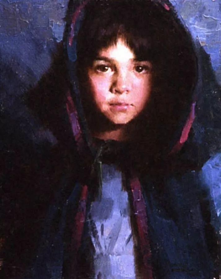 最平凡的幸福,有爱的儿童油画!美国画家摩根·威斯特林作品集一插图61