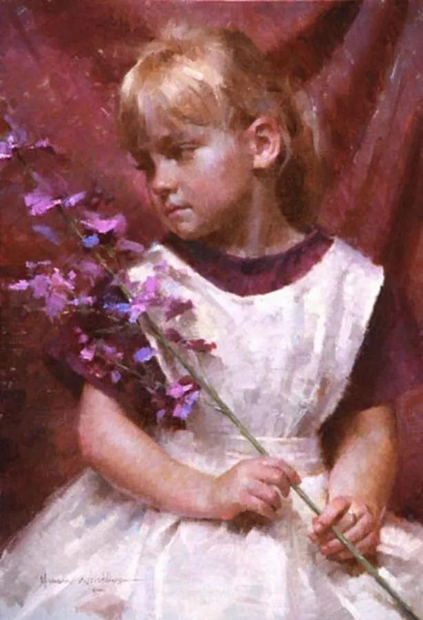最平凡的幸福,有爱的儿童油画!美国画家摩根·威斯特林作品集一插图63
