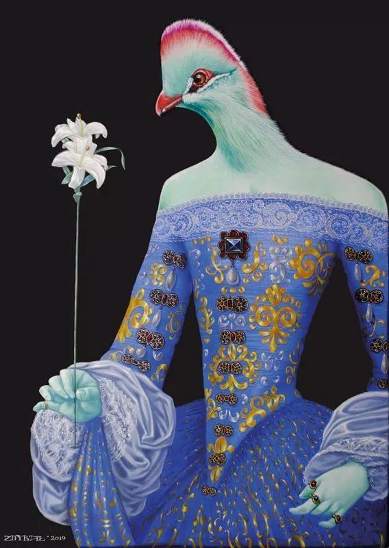 幻想和想象世界,波兰画家马里乌斯·兹德巴插图4