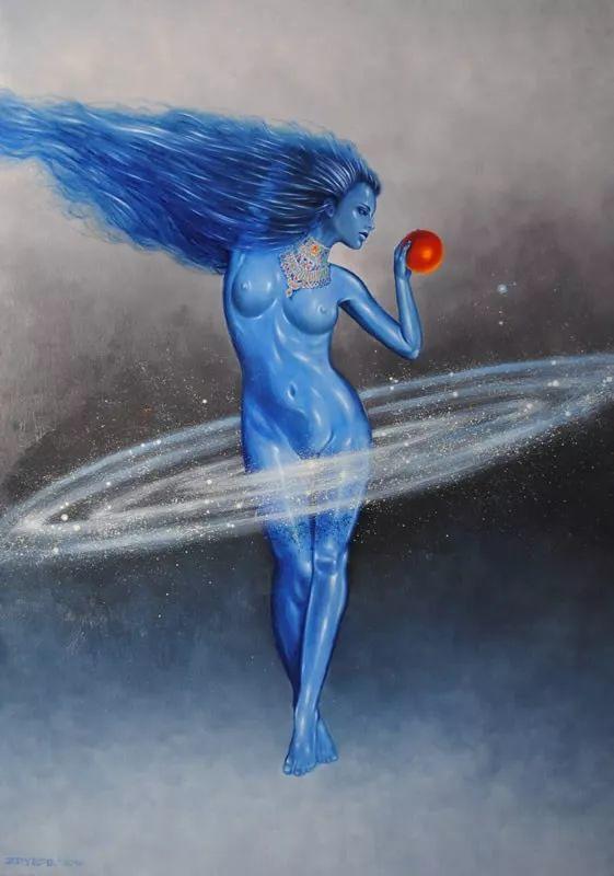 幻想和想象世界,波兰画家马里乌斯·兹德巴插图5