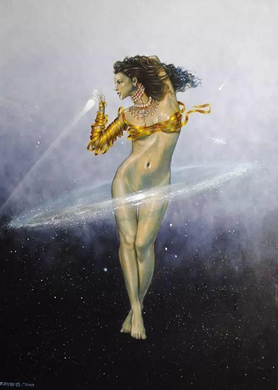 幻想和想象世界,波兰画家马里乌斯·兹德巴插图6