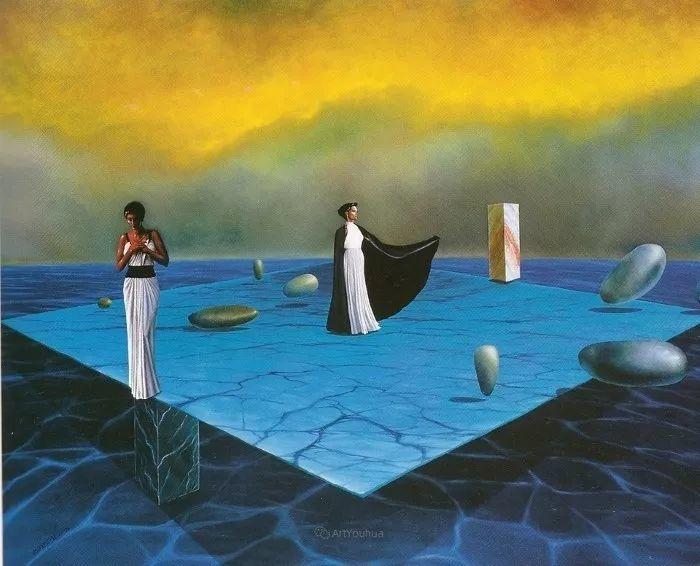 幻想和想象世界,波兰画家马里乌斯·兹德巴插图8