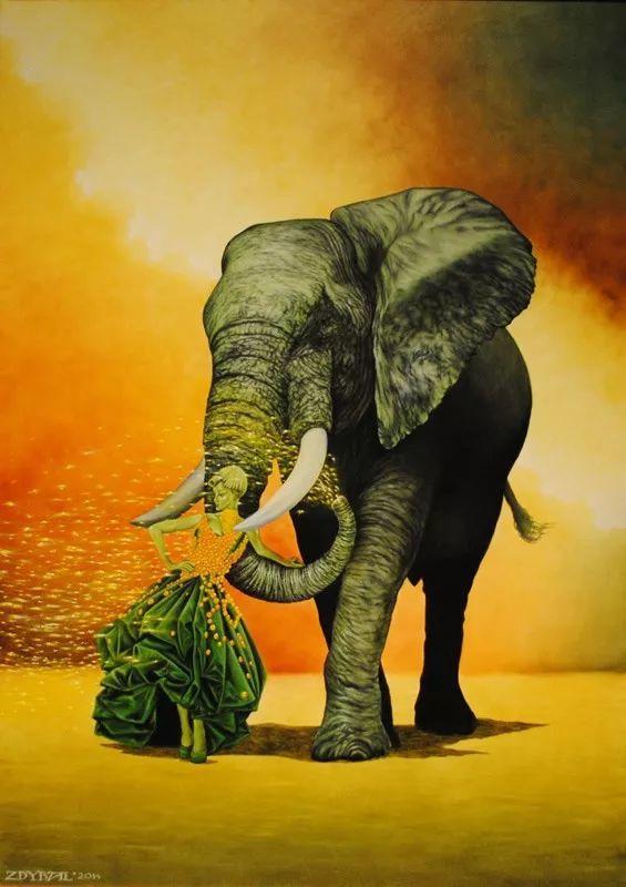幻想和想象世界,波兰画家马里乌斯·兹德巴插图9