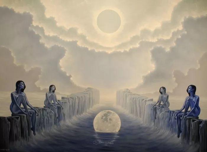 幻想和想象世界,波兰画家马里乌斯·兹德巴插图10