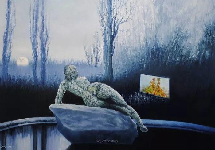 幻想和想象世界,波兰画家马里乌斯·兹德巴插图11