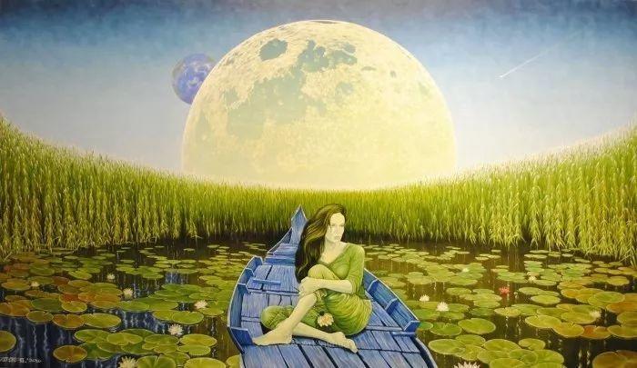 幻想和想象世界,波兰画家马里乌斯·兹德巴插图12