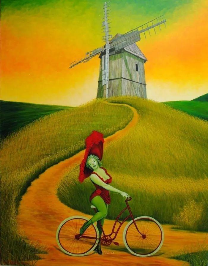 幻想和想象世界,波兰画家马里乌斯·兹德巴插图13