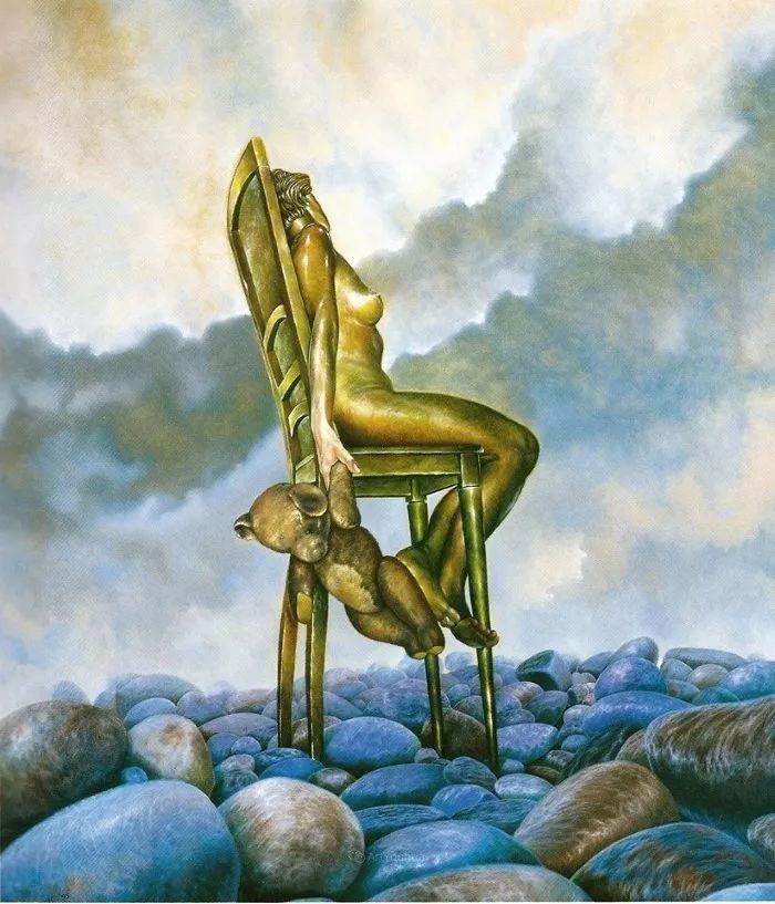 幻想和想象世界,波兰画家马里乌斯·兹德巴插图16