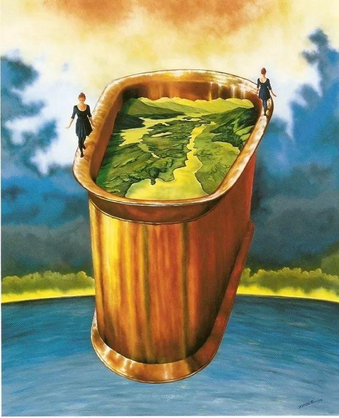 幻想和想象世界,波兰画家马里乌斯·兹德巴插图17