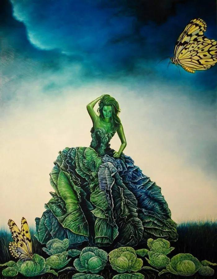 幻想和想象世界,波兰画家马里乌斯·兹德巴插图19