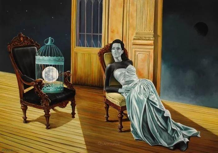 幻想和想象世界,波兰画家马里乌斯·兹德巴插图20