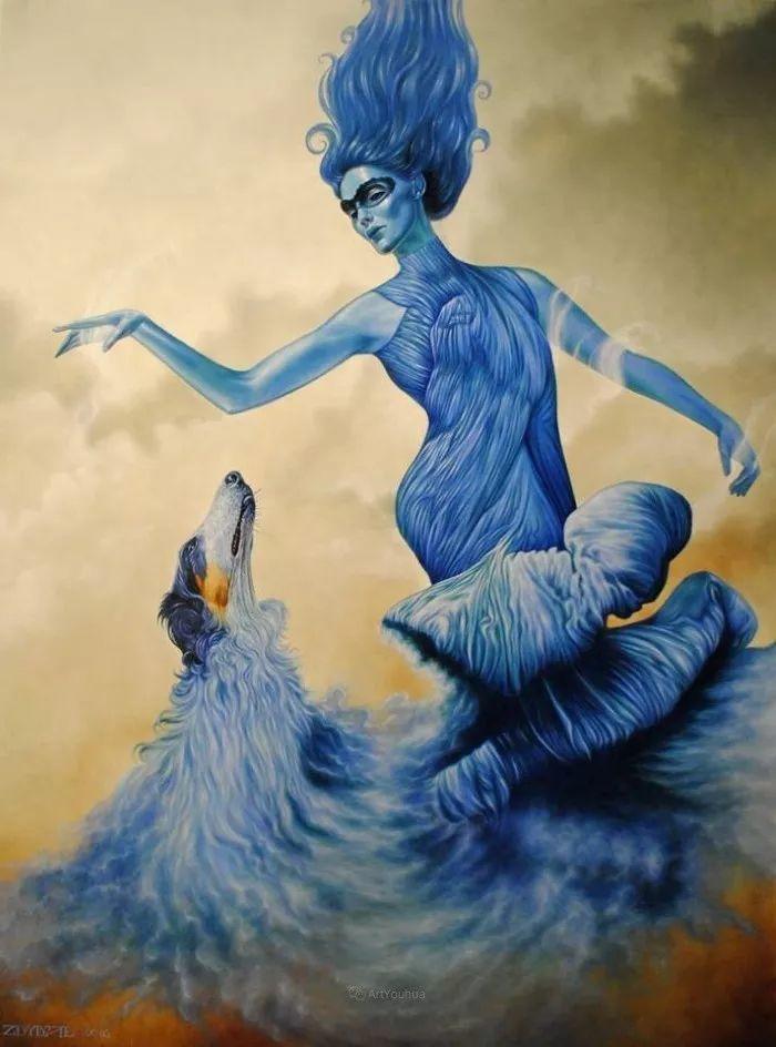 幻想和想象世界,波兰画家马里乌斯·兹德巴插图21