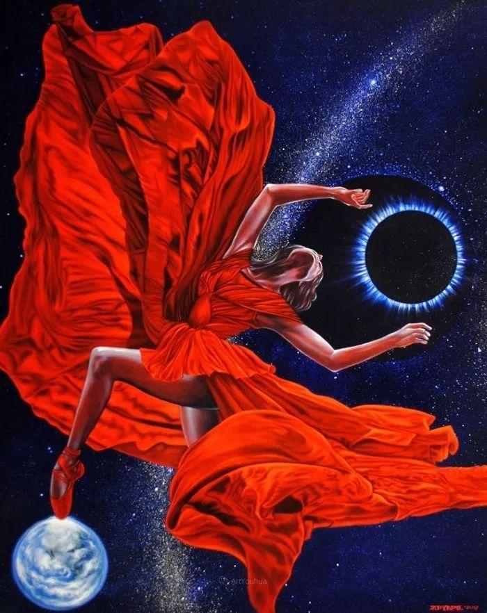 幻想和想象世界,波兰画家马里乌斯·兹德巴插图22