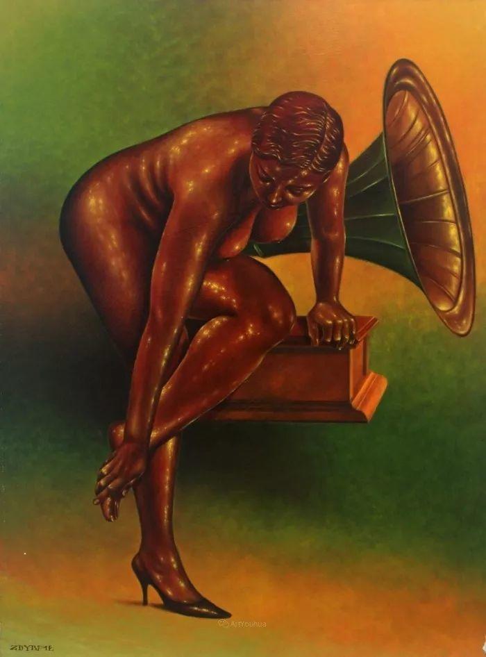 幻想和想象世界,波兰画家马里乌斯·兹德巴插图23