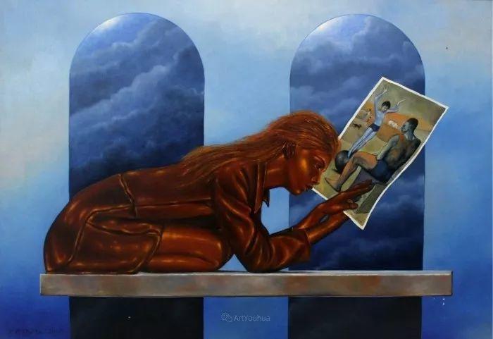 幻想和想象世界,波兰画家马里乌斯·兹德巴插图24