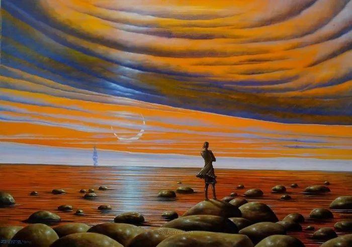 幻想和想象世界,波兰画家马里乌斯·兹德巴插图25