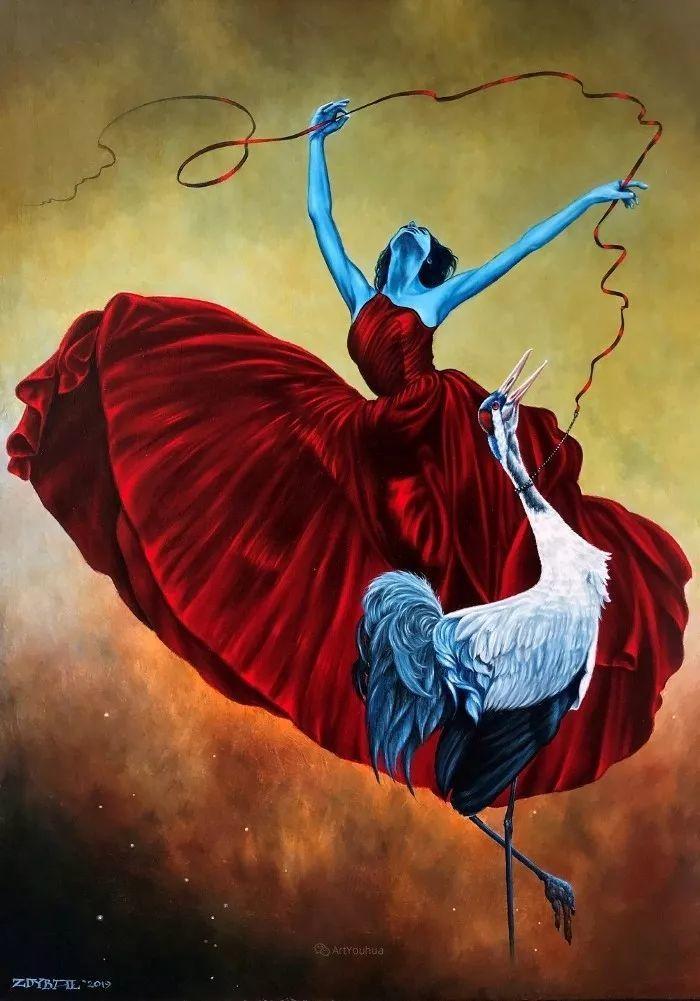 幻想和想象世界,波兰画家马里乌斯·兹德巴插图27