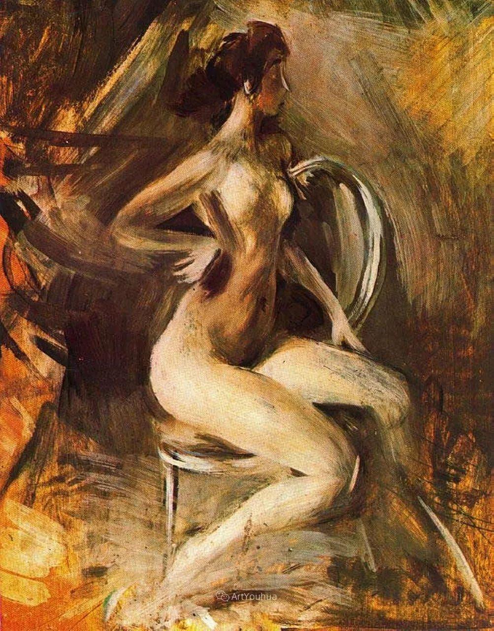 两种不同画风的美女,你喜欢哪一种!意大利画家Giovanni Boldini作品集插图6