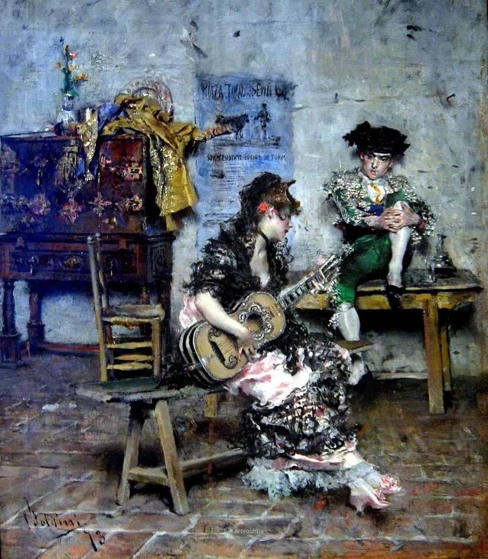 两种不同画风的美女,你喜欢哪一种!意大利画家Giovanni Boldini作品集插图8