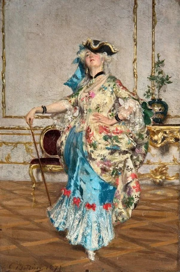 两种不同画风的美女,你喜欢哪一种!意大利画家Giovanni Boldini作品集插图26
