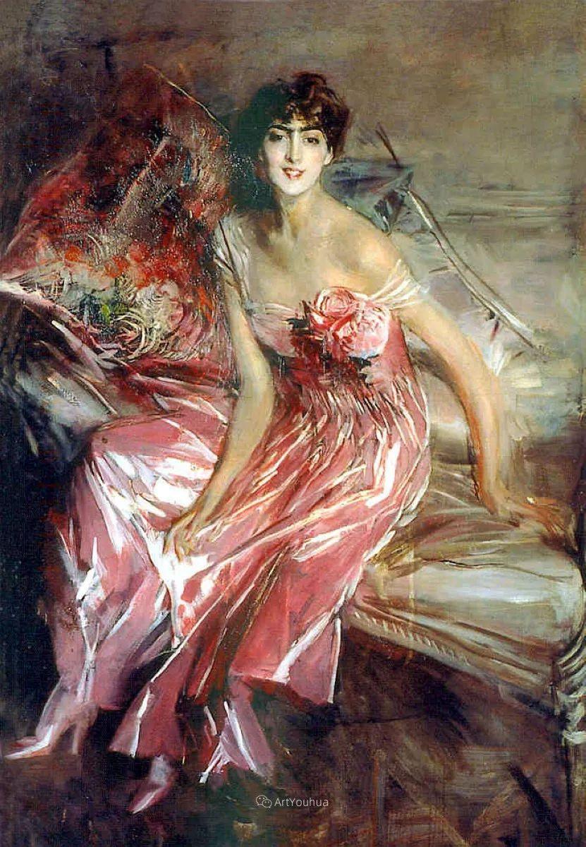 两种不同画风的美女,你喜欢哪一种!意大利画家Giovanni Boldini作品集插图42