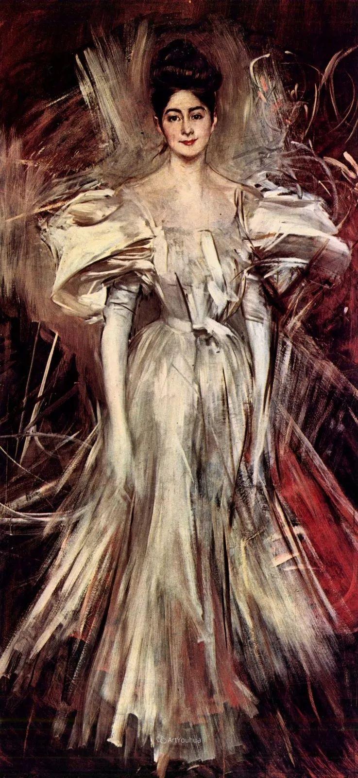 两种不同画风的美女,你喜欢哪一种!意大利画家Giovanni Boldini作品集插图52