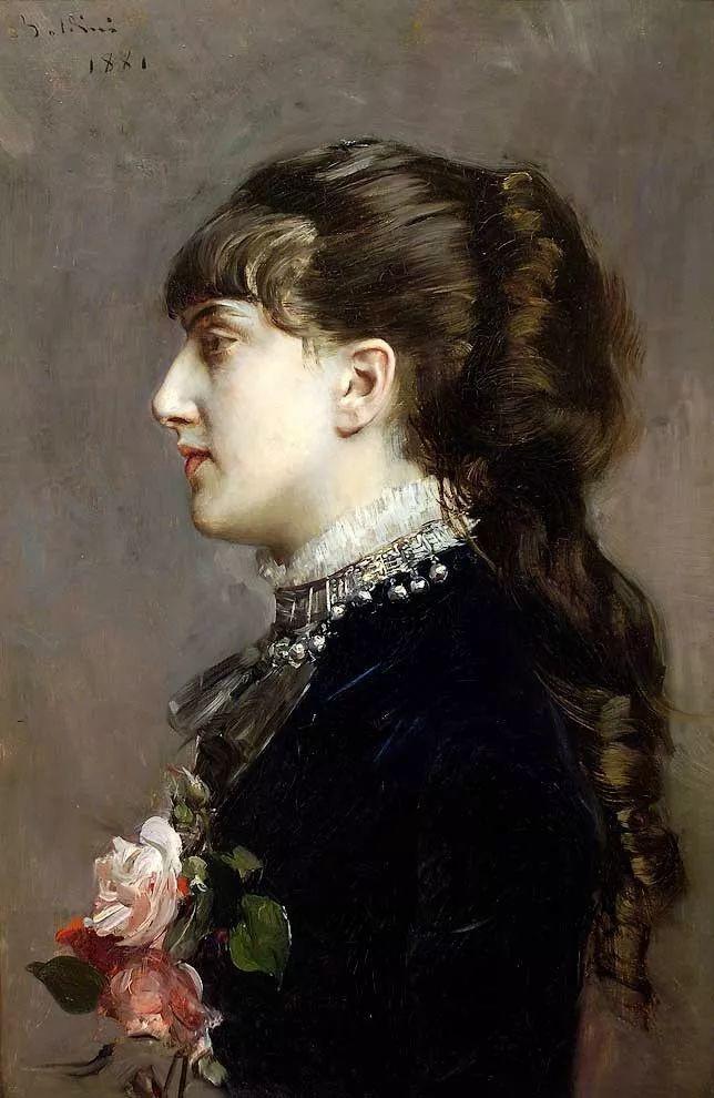 两种不同画风的美女,你喜欢哪一种!意大利画家Giovanni Boldini作品集插图53