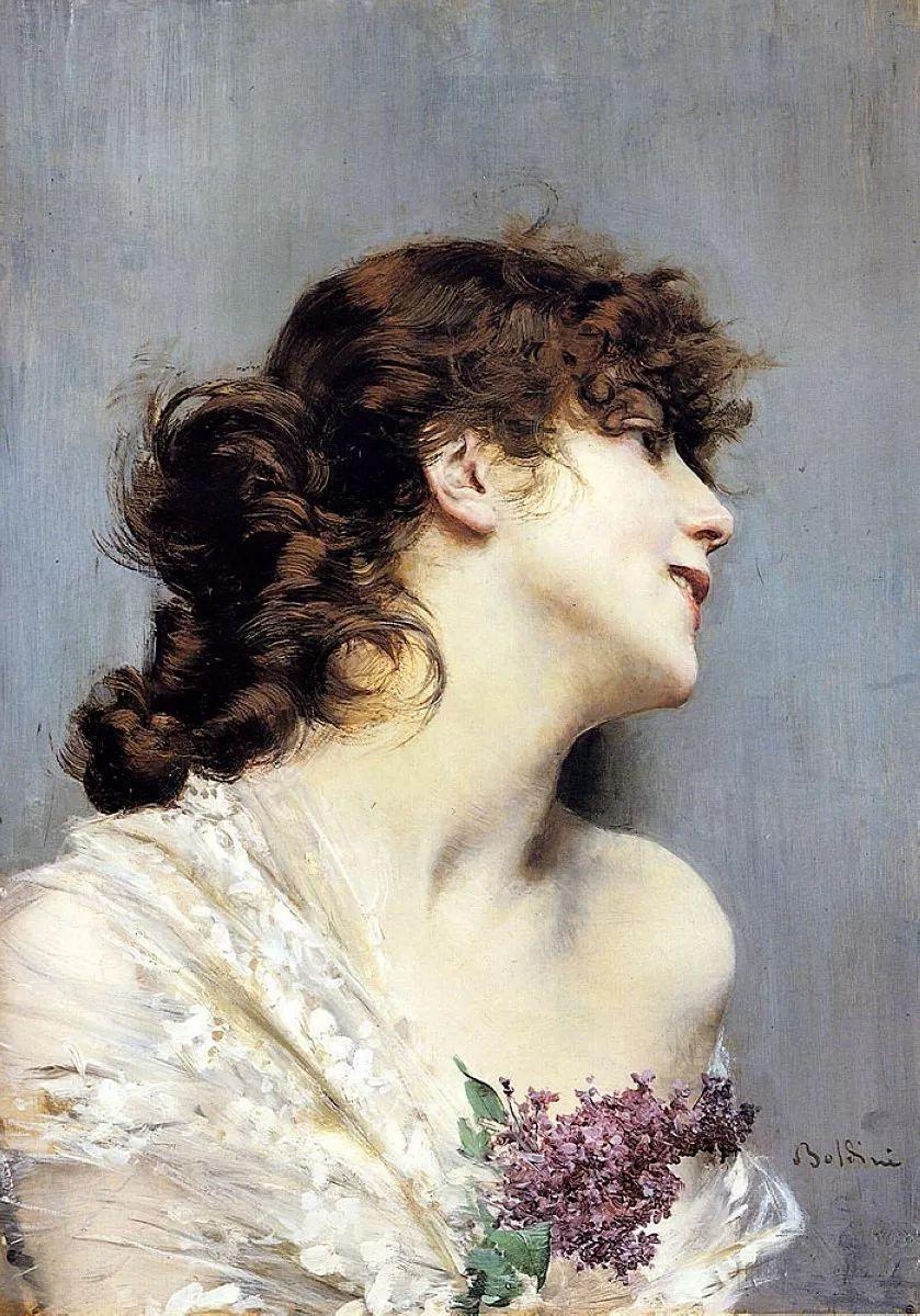 两种不同画风的美女,你喜欢哪一种!意大利画家Giovanni Boldini作品集插图56