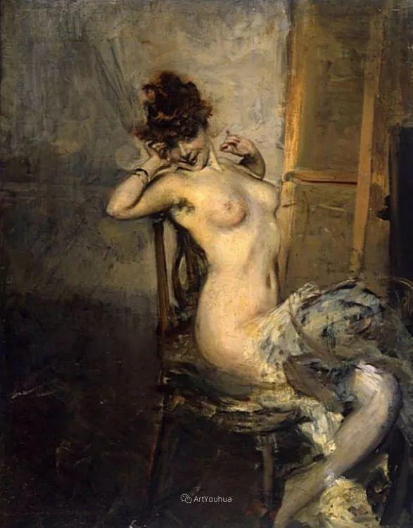 两种不同画风的美女,你喜欢哪一种!意大利画家Giovanni Boldini作品集插图61