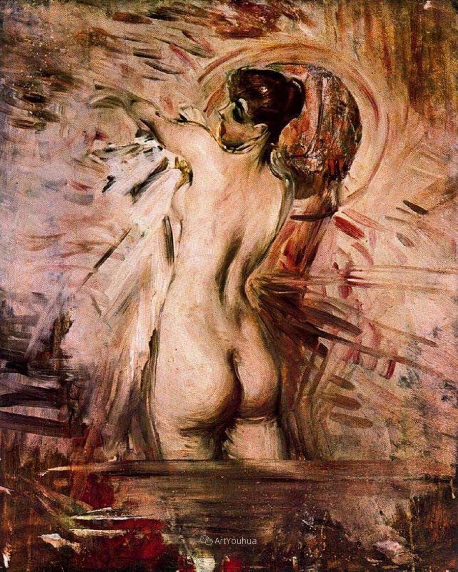 两种不同画风的美女,你喜欢哪一种!意大利画家Giovanni Boldini作品集插图62