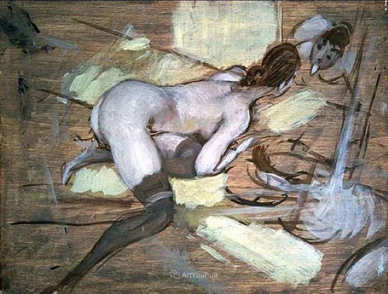 两种不同画风的美女,你喜欢哪一种!意大利画家Giovanni Boldini作品集插图64